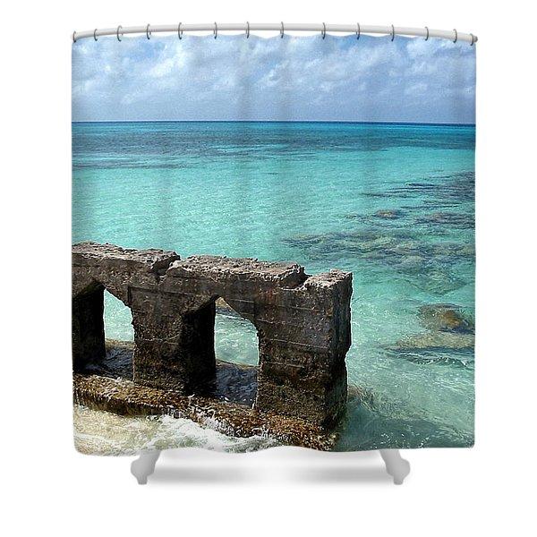 Causeways Ancient And Modern Shower Curtain