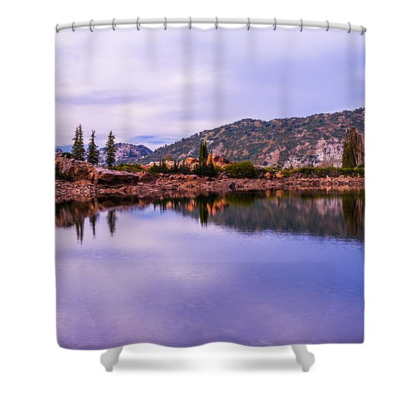 Cecret Reflection Shower Curtain