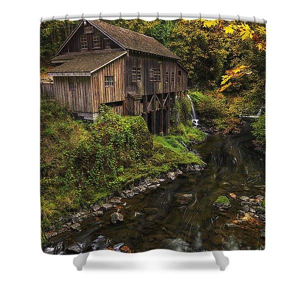 Cedar Creek Grist Mill 2 Shower Curtain