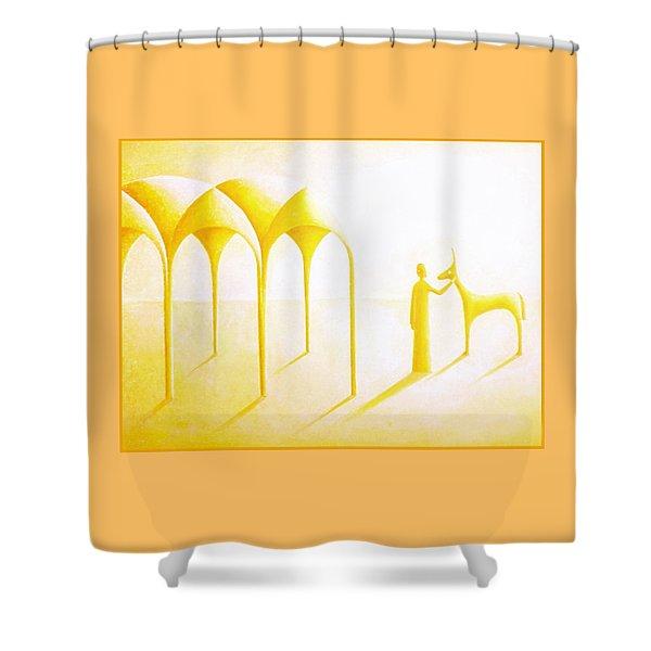 Celestial Dimension Shower Curtain