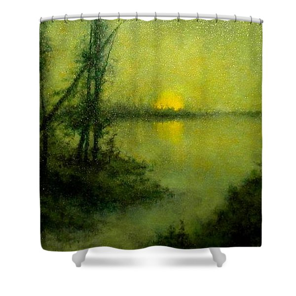 Celestial Place #5 Shower Curtain