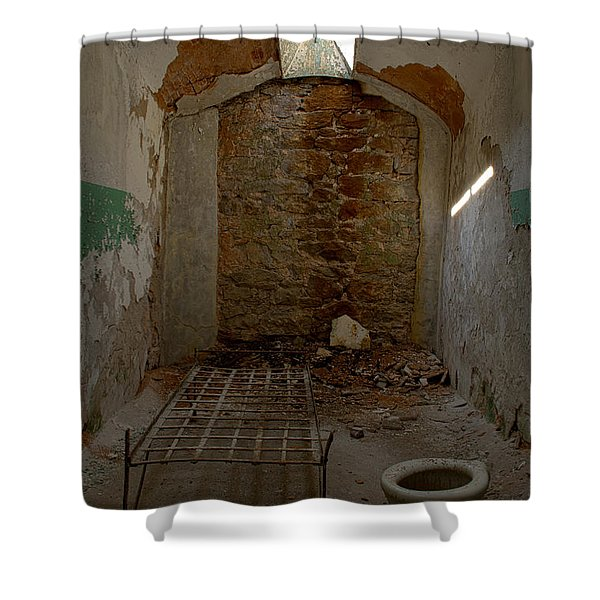 Cell Room Shower Curtain