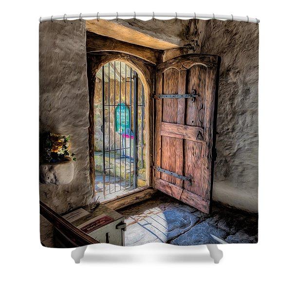 Celynnin Entrance Shower Curtain