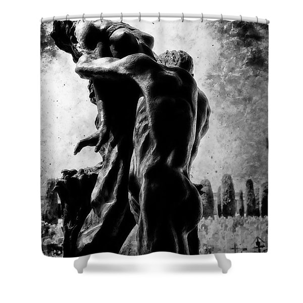 Cemetery Of Verona Shower Curtain