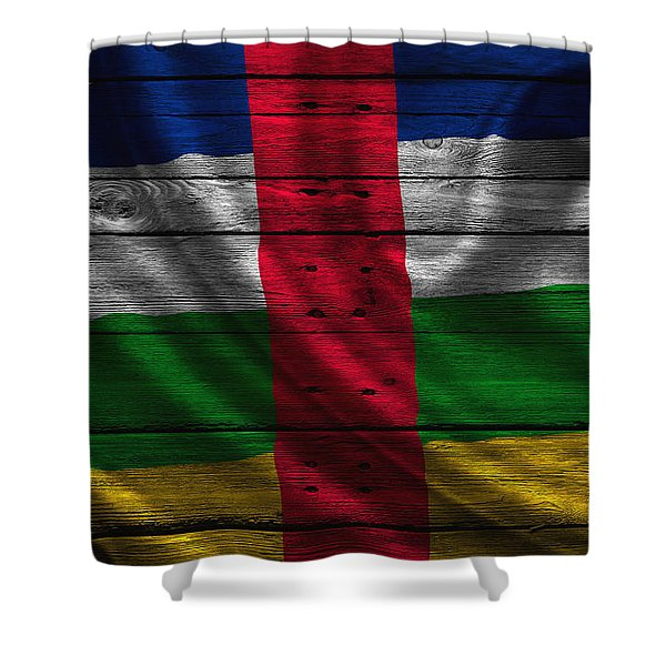 Central Africa Shower Curtain