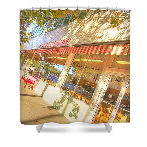 Central Dairy Shower Curtain