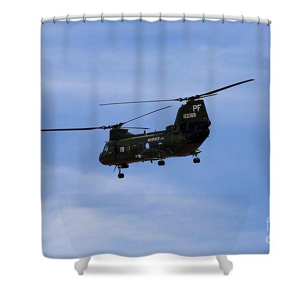 Ch-46 Vietnam Era Paint Shower Curtain