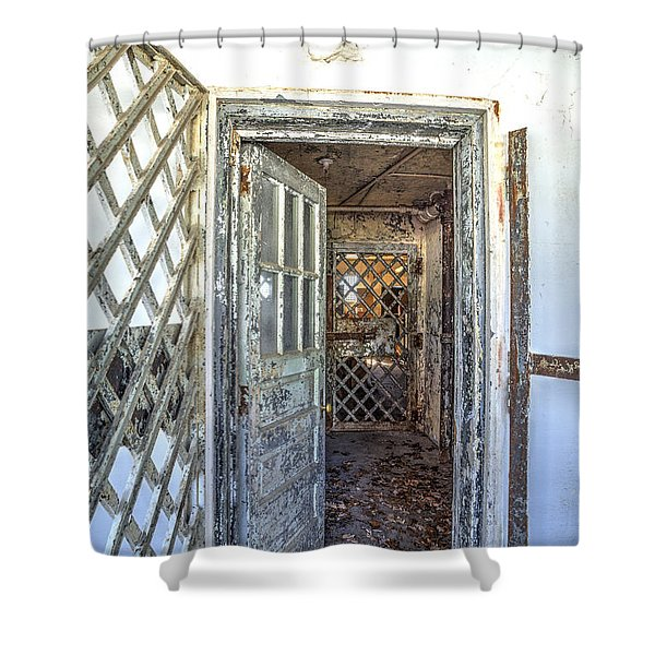 Chain Gang-1 Shower Curtain