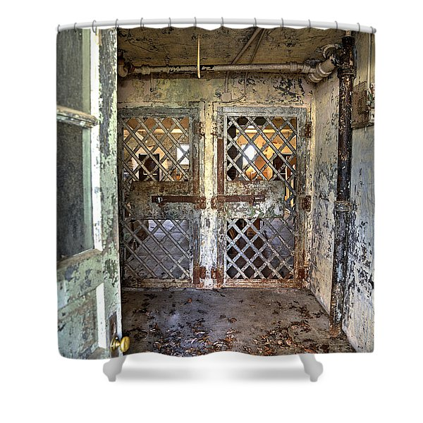 Chain Gang-3 Shower Curtain