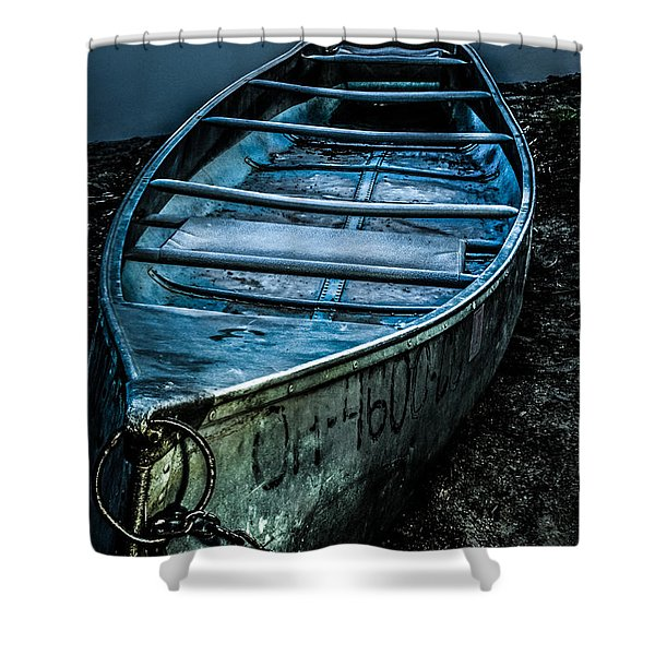 Chained At The Waters Edge Shower Curtain
