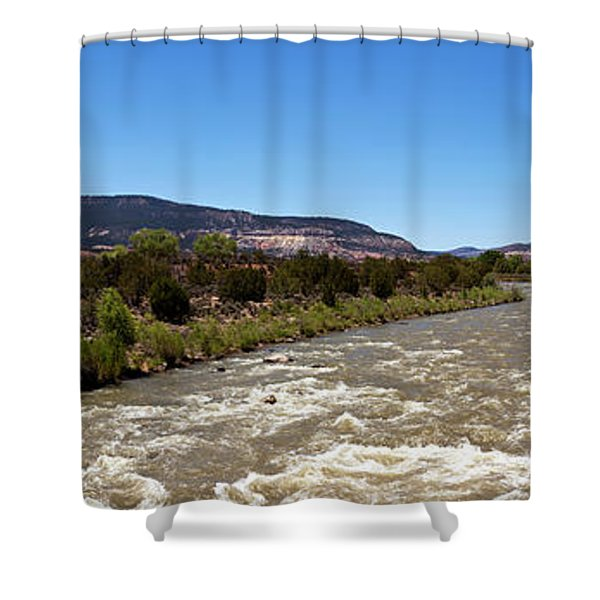 Chama River A Major Tributary River Shower Curtain