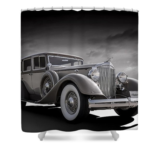 Champagne Cruise Shower Curtain