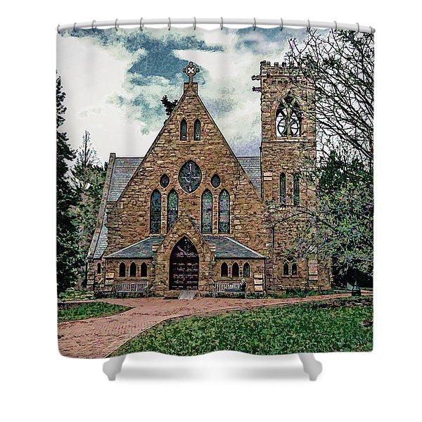 Chapel At University Of Virginia Shower Curtain