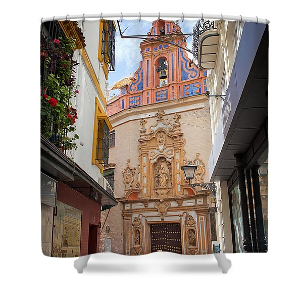 Chapel Of St. Joseph Of Seville Shower Curtain