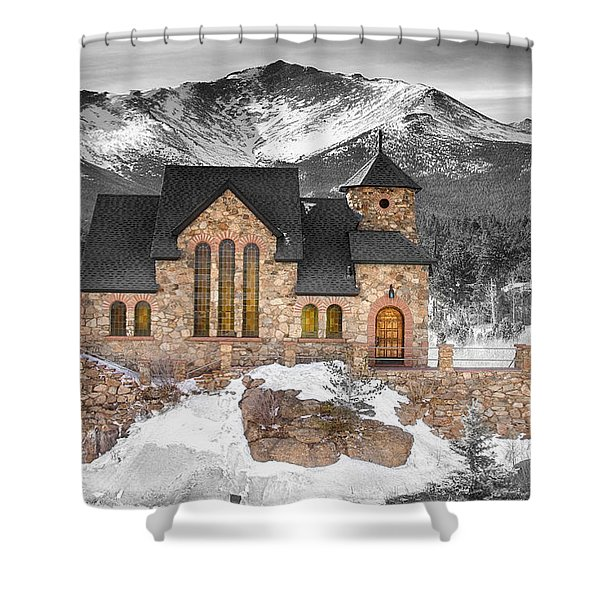 Chapel On The Rock Bwsc Shower Curtain
