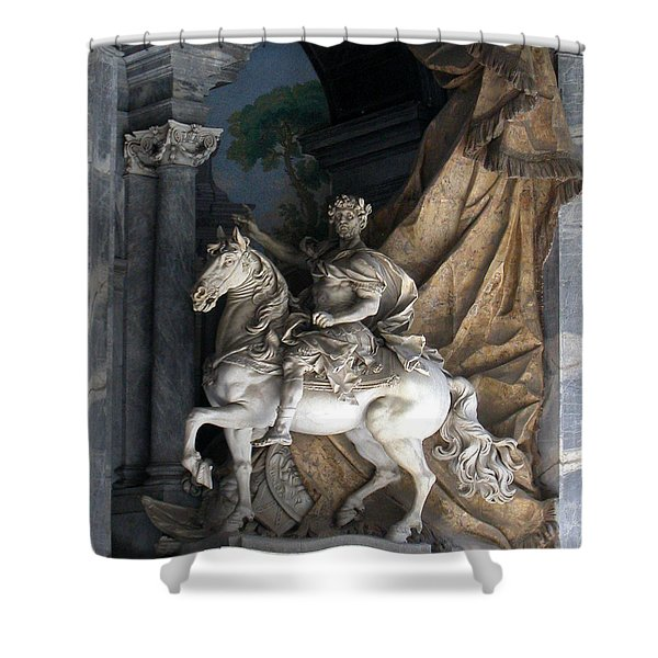Charlemagne  Shower Curtain