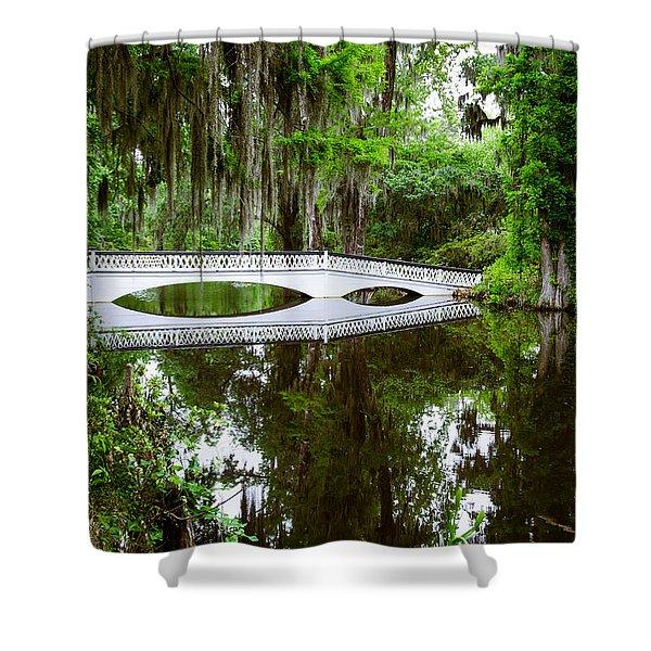 Charleston Sc Bridge Shower Curtain