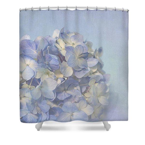 Charming Blue Shower Curtain