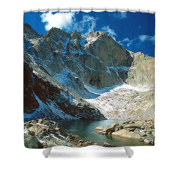 Chasm Lake Shower Curtain
