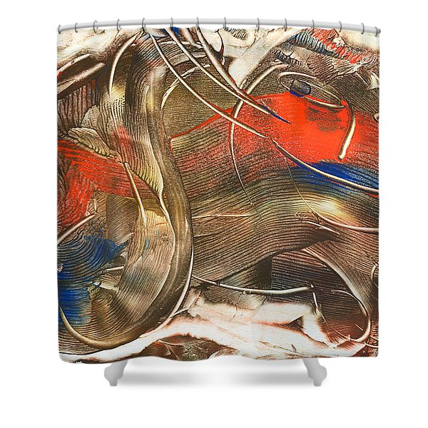 Chat Accompli Shower Curtain