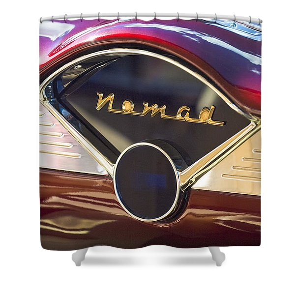 Chevrolet Belair Nomad Dashboard Shower Curtain