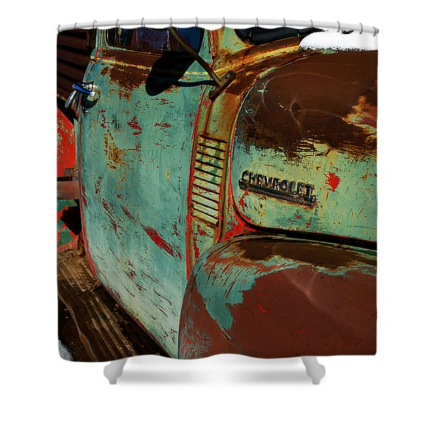 Arroyo Seco Chevy Shower Curtain
