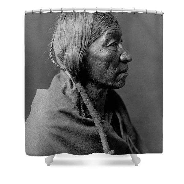 Cheyenne Indian Woman Circa 1910 Shower Curtain