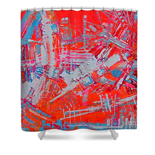 Chic And Hep Like Lyla Shower Curtain