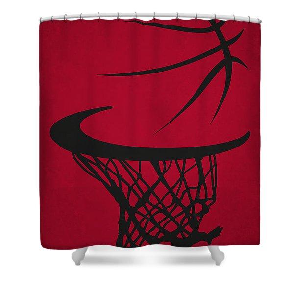 Chicago Bulls Hoop Shower Curtain