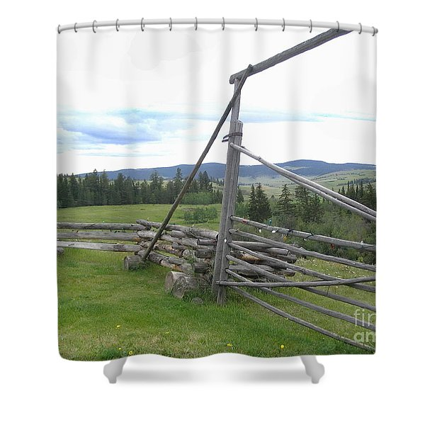 Chilcoltin Way Shower Curtain