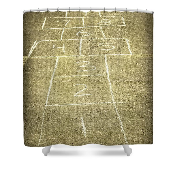 Childhood Games Shower Curtain