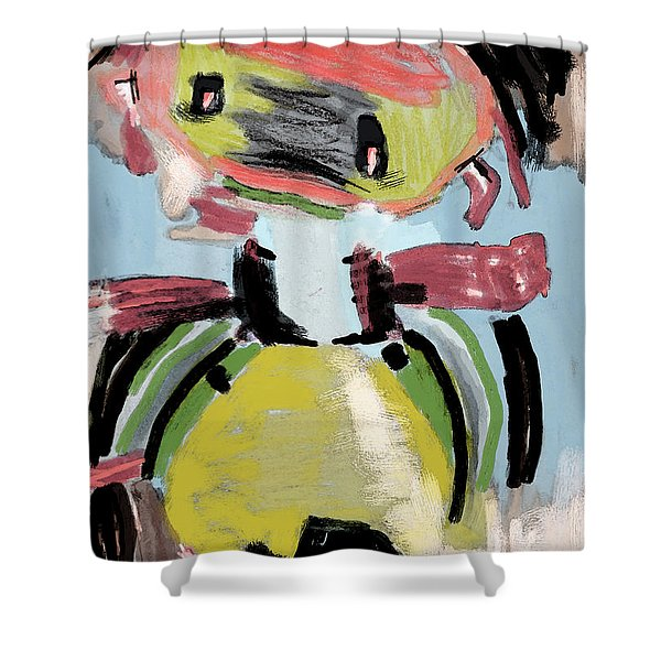 Child's Game Shower Curtain