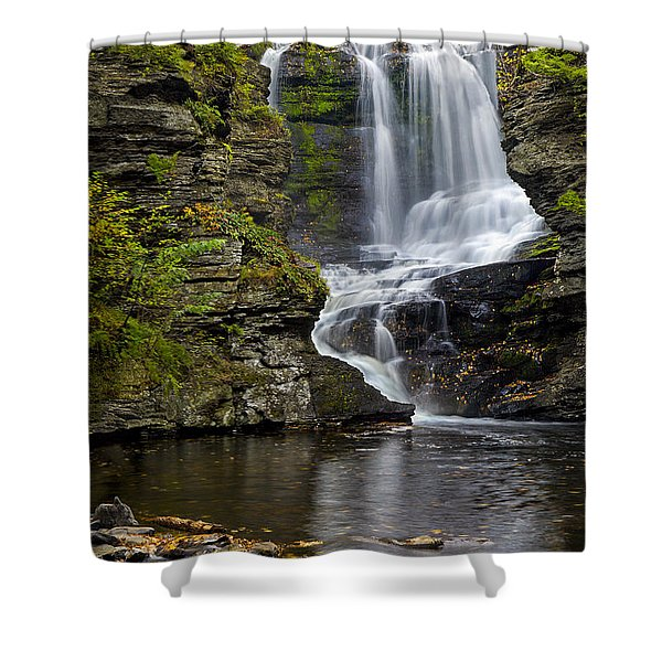Childs Park Waterfall Shower Curtain