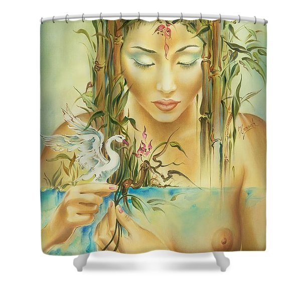 Chinese Fairytale Shower Curtain
