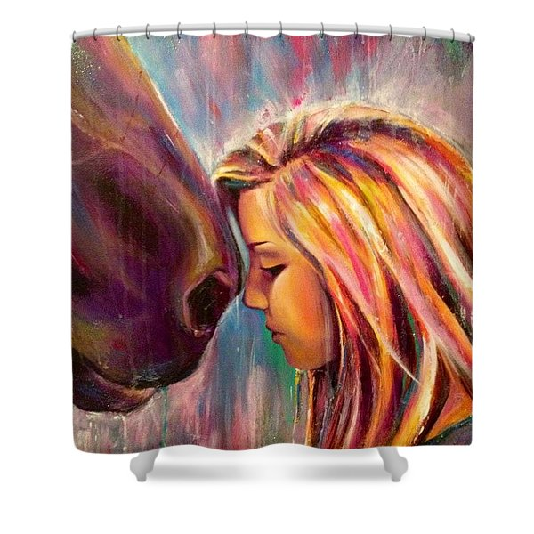 Chrissy And Rusty Shower Curtain