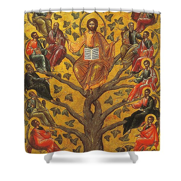 Christ And The Apostles Shower Curtain