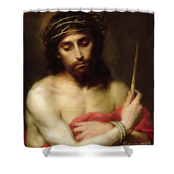 Christ The Man Of Sorrows Shower Curtain