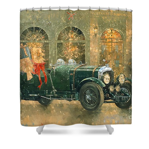 Christmas At Fortnum And Masons Shower Curtain