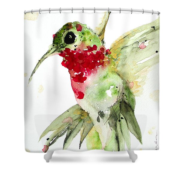 Christmas Hummer Shower Curtain