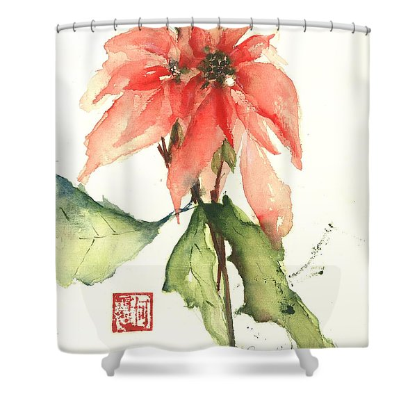 Christmas Tradition Shower Curtain