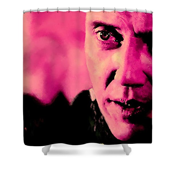 Christopher Walken @ Pulp Fiction Shower Curtain