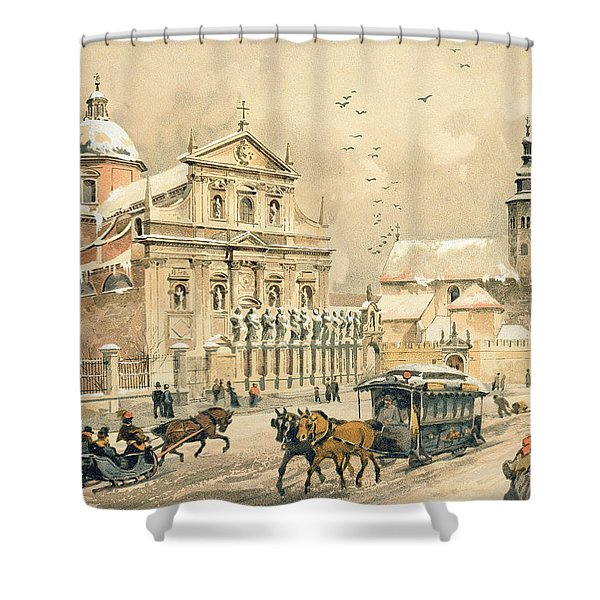 Church Of St Peter And Paul In Krakow Shower Curtain