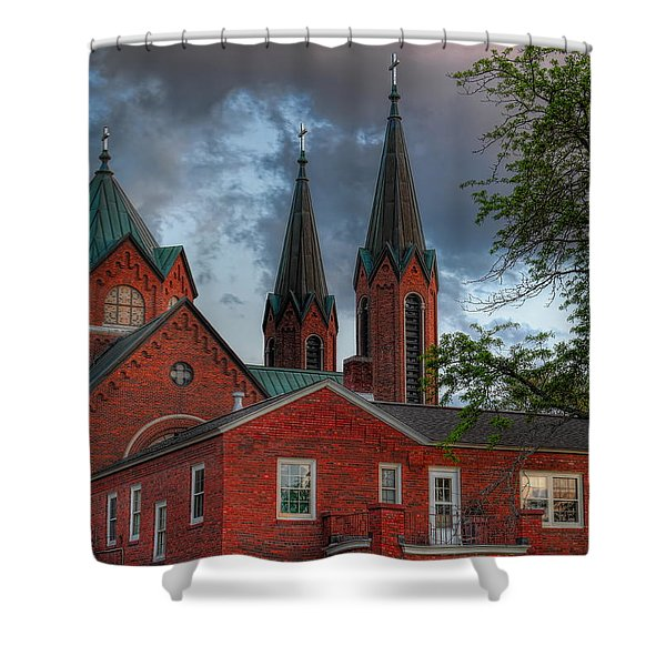 Church Of The Resurrection Shower Curtain