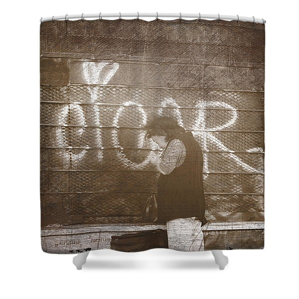 Cigars Only Shower Curtain