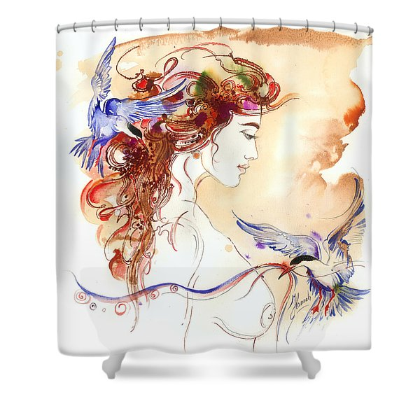 Cinderella Story Shower Curtain
