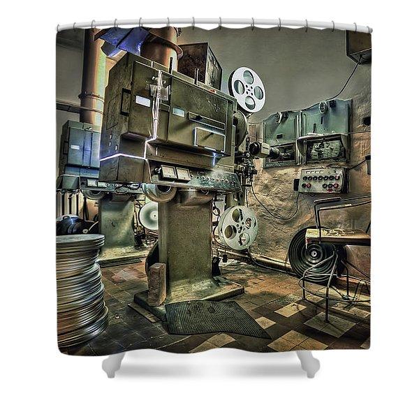 Cinematica Shower Curtain