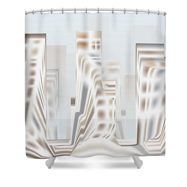 City Mesa 2 Shower Curtain