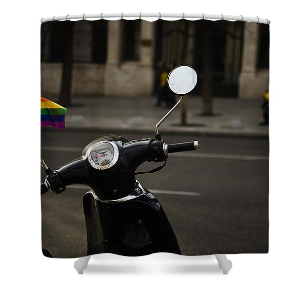 City Pride Shower Curtain