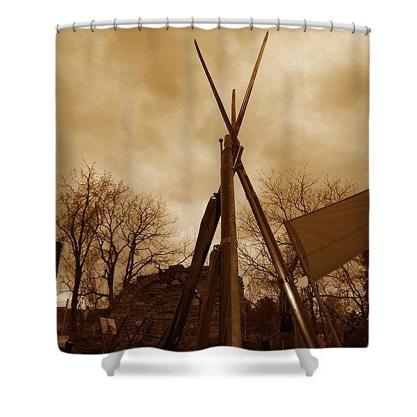 Civil War Camp Shower Curtain
