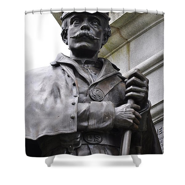 Civil War Memorial Shower Curtain